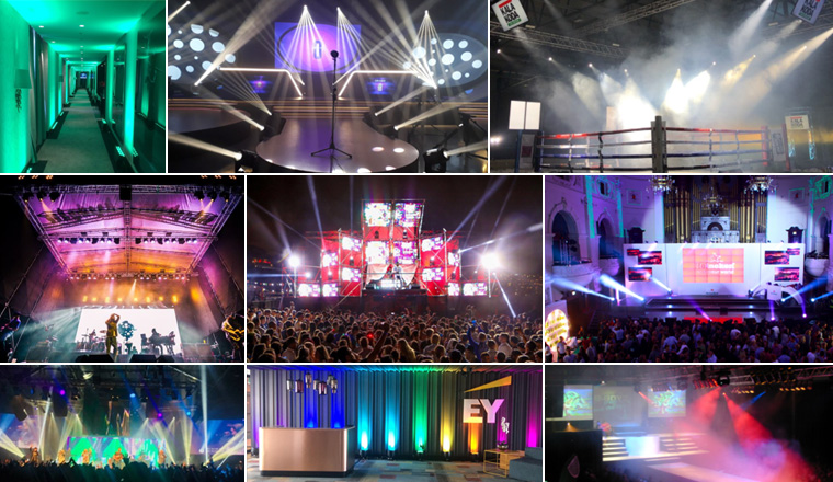 Live Show Concert Architectural Ambient Mood Laser Dj Intelligent Dance floor lighting