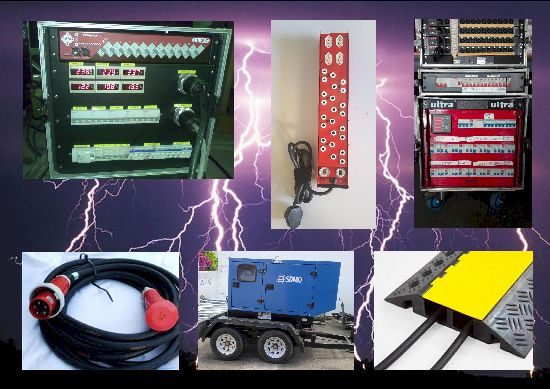 Power distribution control Generators monitoring