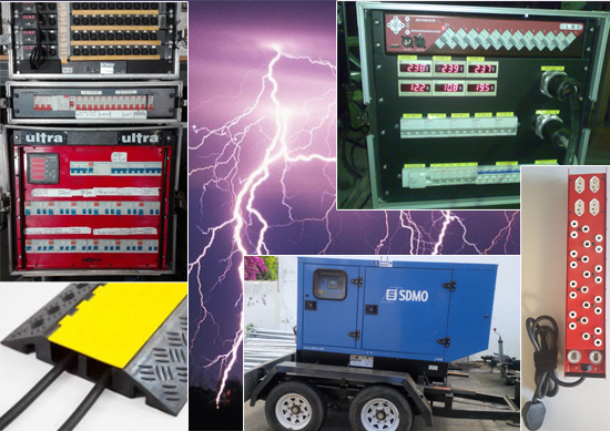 Power distribution design & monitoring Power distribution Power control Generators