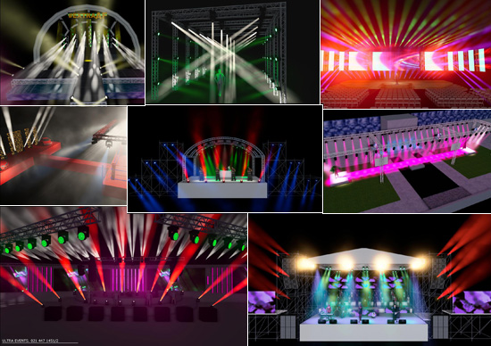 Large Events Technical Co Ordination